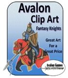 Avalon Clip Art, Knights