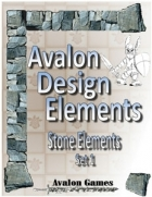 Avalon Design Elements, Stone Set 1