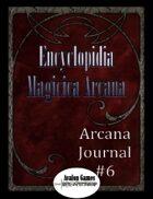 Arcana Journal #6