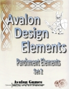 Avalon Design Elements Parchment Set 2