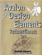 Avalon Design Elements, Parchment Set 3