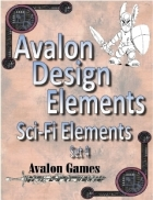 Avalon Design Elements, Sci-Fi Set 4