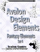 Avalon Design Elements, Fantasy Set 4