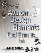 Avalon Design Elements, Floral Set 4
