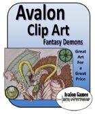 Avalon Clip Art, Demons