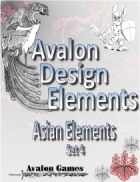 Avalon Design Elements, Asian Set 4