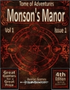 Tomes of Adventure, Morson's Manor