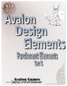 Avalon Design Elements, Parchment Set #5