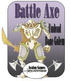 Battle Axe, Undead Bone Golem