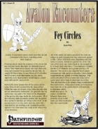 Avalon Encounters Vol 1, Issue #9 Fey Circles
