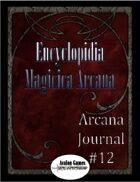 Arcana Journal #12