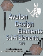 Avalon Design Elements Sc-Fi Set #6