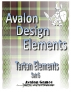 Avalon Design Elements, Tartan Set 6