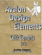Avalon Design Elements, Celtic Set 6