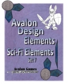 Avalon Design Elements, Sci-Fi Set #7