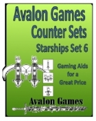 Avalon Counter Sets, Starships Set 6