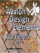 Avalon Design Elements, Asian Set 7