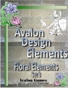 Avalon Design Elements, Floral Set 8