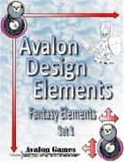 Avalon Design Elements, Fantasy Set 8