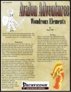 Avalon Adventures Vol 1, Issue #11 Wondrous Elements