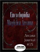 Arcana Journal #15