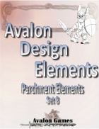 Avalon Design Elements, Parchment Set 8