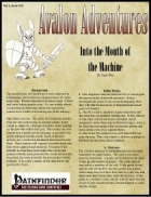 Avalon Adventures Vol 1, Issue #12, Into the Mouth of the Machine