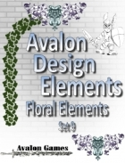 Avalon Design Elements, Floral Set 9