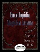 Arcana Journal #16
