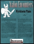 Avalon Encounters Vol 2, Issue #1, Wrydstorm Plains