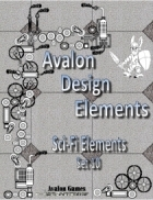 Avalon Design Elements, Sci-Fi Set 10