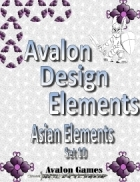 Avalon Design Elements. Asian Set 10