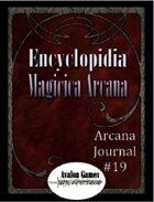 Arcana Journal #19