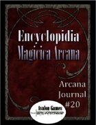Arcana Journal #20