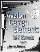 Avalon Design Elements, Sci-Fi Set 12