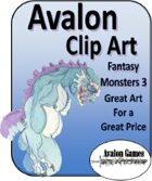 Avalon Clip Art, Monsters 3