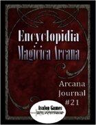 Arcana Journal #21