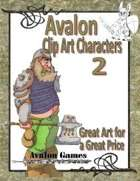Avalon Clip Art Characters, Dwarf 1