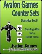 Avalon Counter Sets. Starships Set 9