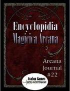 Arcana Journal #22