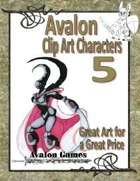 Avalon Clip Art Characters, Star Knight 2