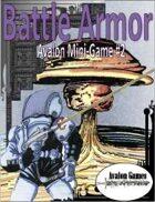 Battle Armor, Avalon Mini-Game #2