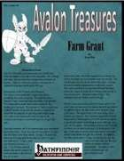 Avalon Treasure, Vol 1, Issue #5, Farm Grant