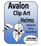 Avalon Clip Art Sets, Helms