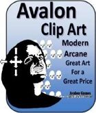 Avalon Clip Art Sets, Modern Arcane