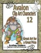 Avalon Clip Art Characters, Dwarf 3