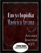 Arcana Journal #25