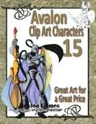 Avalon Clip Art Characters, Star Knight 4
