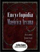 Arcana Journal #26