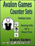 Avalon Counter Sets, Fantasy Icons Set